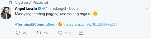 Did Angel Locsin Just Posted An Update on Her Comeback Film With Angelica Panganiban? Check This out!