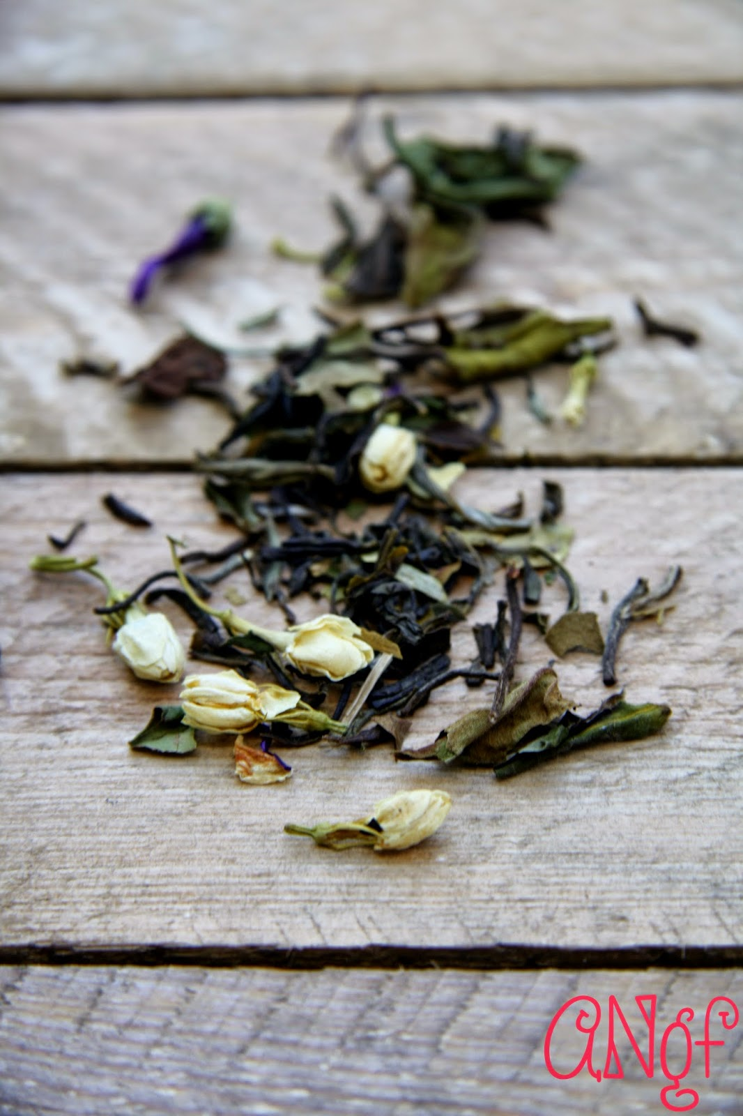 Jasmine, gingko, blue mallow flower and spriulina tea | Anyonita-nibbles.co.uk