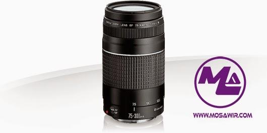 عدسة كانون: EF 75-300mm f/4-5.6 III