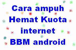 kuota data BBM