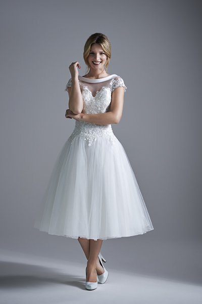 Dirty Fabulous: Tea Length Wedding Dresses Just Arrived in Store!