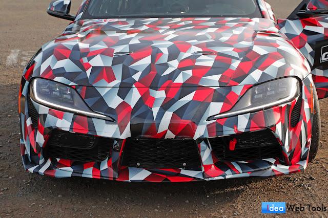 ハンガリーで目撃された新型スープラの開発車両「A110」