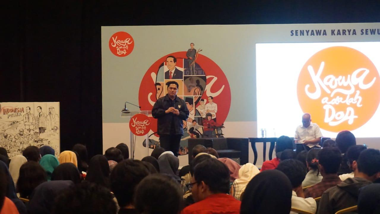 Erick Thohir Imbau Masyarakat Makassar Lawan Hoax