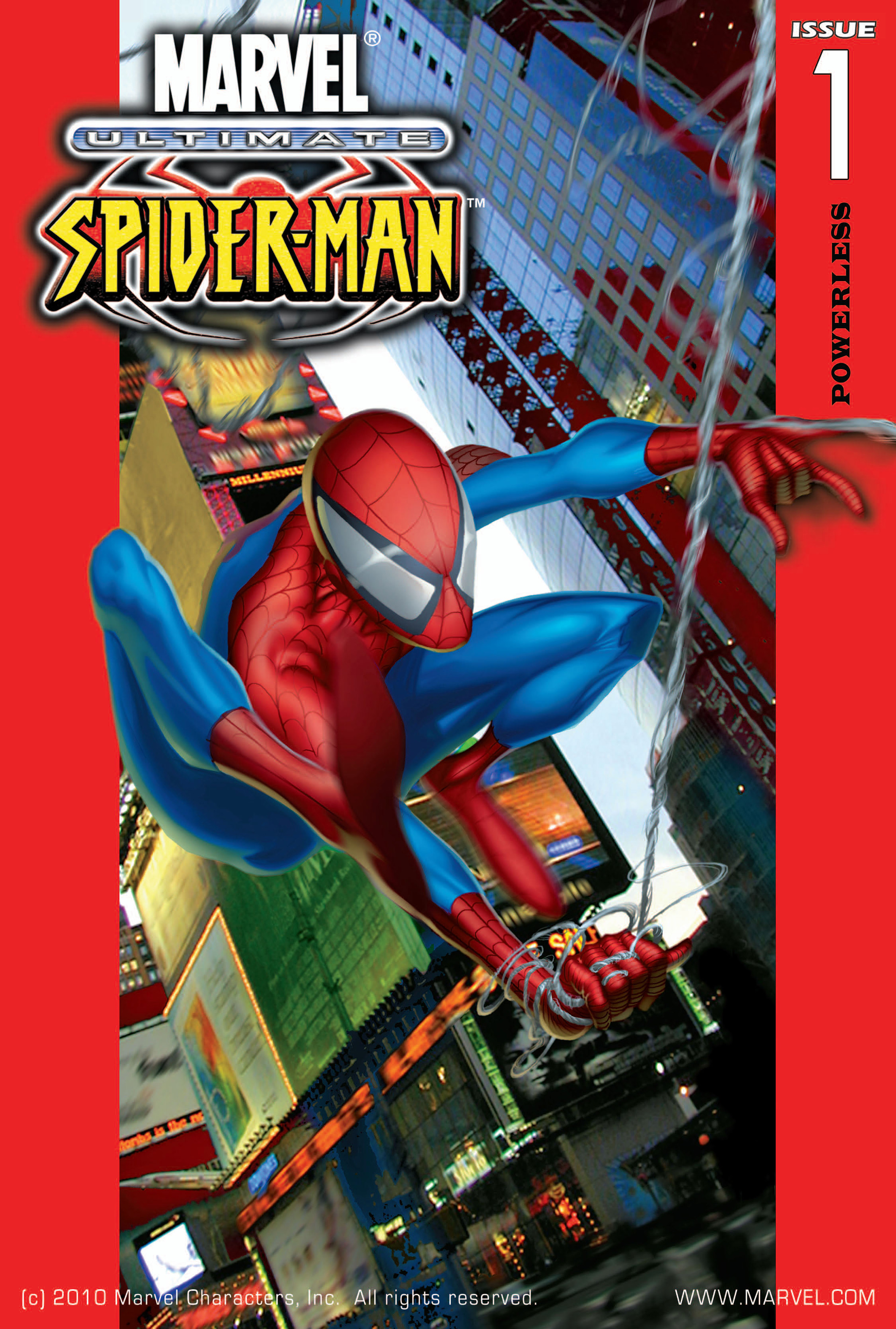 Read online Ultimate Spider-Man (2000) comic -  Issue #1 - 1