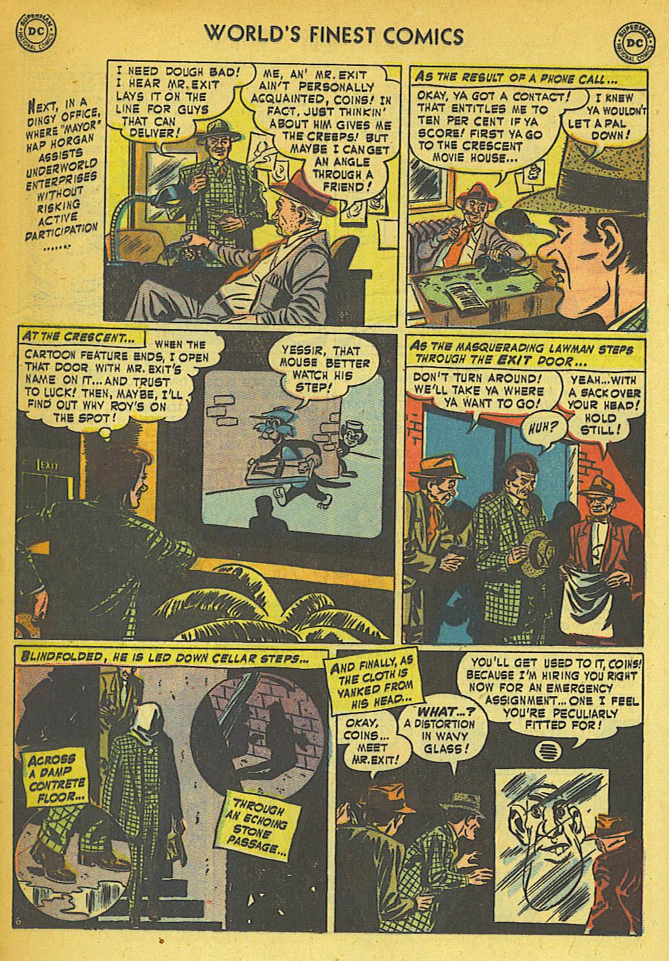 Read online World's Finest Comics comic -  Issue #57 - 22