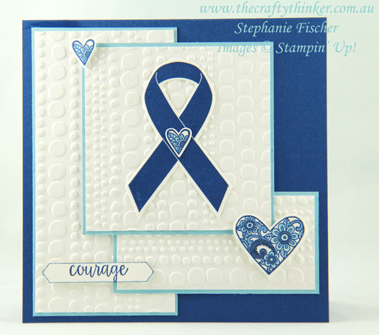 #thecraftythinker  #stampinup  #masculinecard #ribbonofcourage #cardmaking , Ribbon of Courage, Stampin' Up Australia Demonstrator, Stephanie Fischer, Sydney NSW