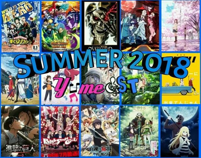 Jadwal Rilis Ost Anime Summer 2018