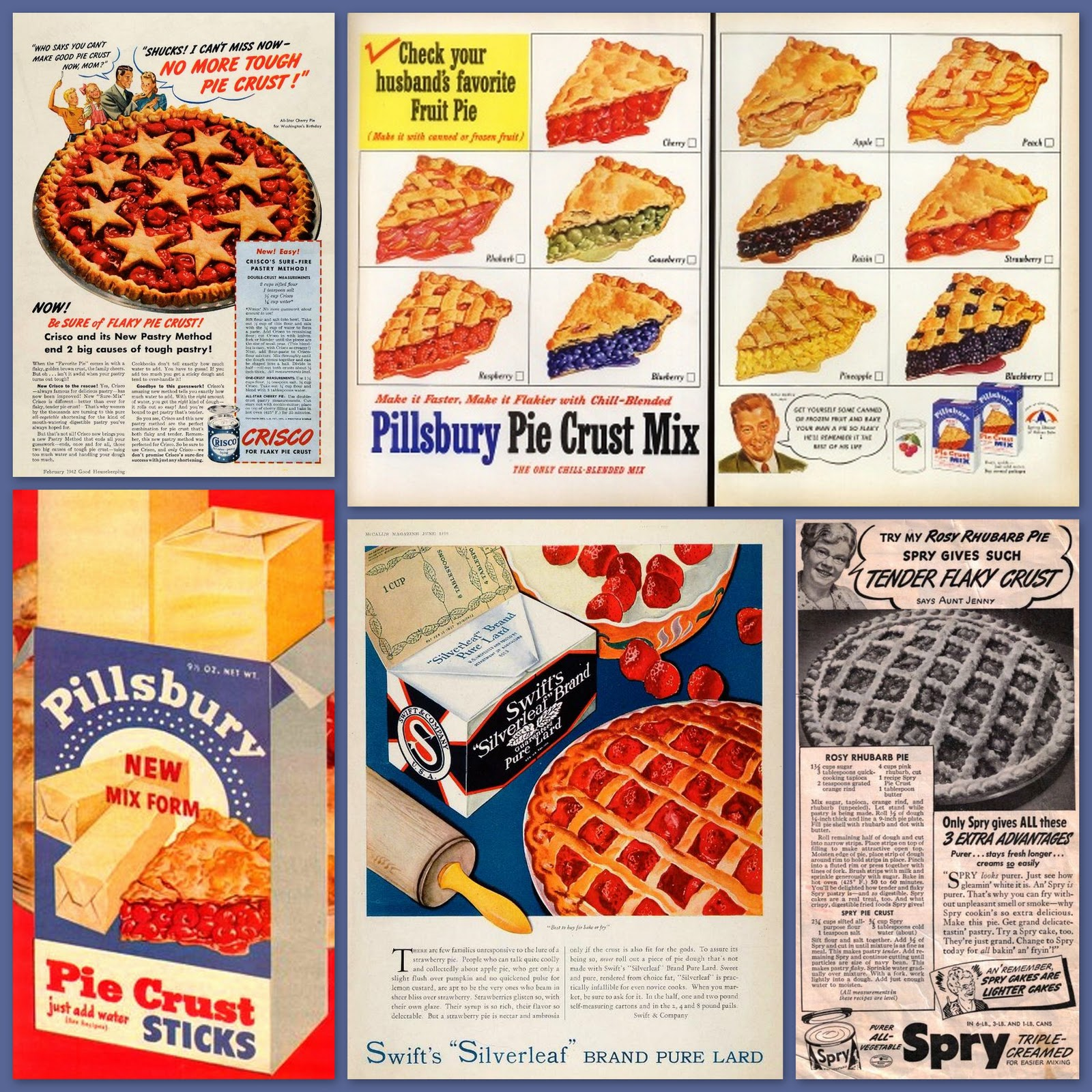 American Pie Strip Academy food timeline: history notes-pie & pastry