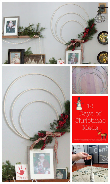 Make a Simple Wreath for Christmas