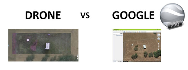 Drone Deploy vs Google Earth