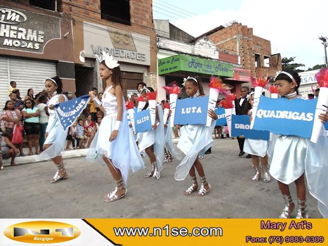 Escola Nossa Senhora da Conceição realiza Desfile Cívico em Riachuelo