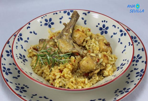 Arroz con conejo Ana Sevilla cocina tradicional