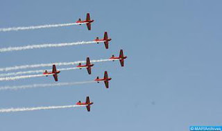عيد الشباب .. القوات الملكية الجوية تنظم استعراضات جوية بعد غد الاثنين بالمضيق ومارتيل 19 غشت 2017