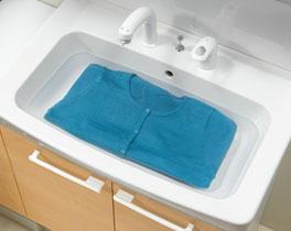 LIXIL 洗面台 オフト 陶器製大型洗面器