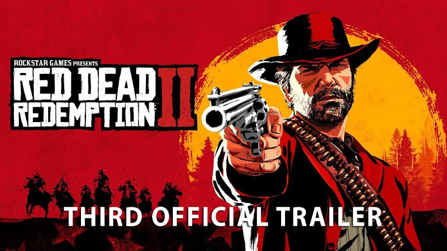 red dead redemption 2 game trailer