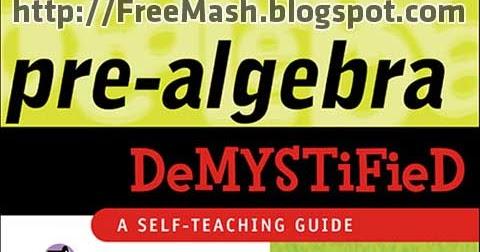 Pre Algebra Pdf