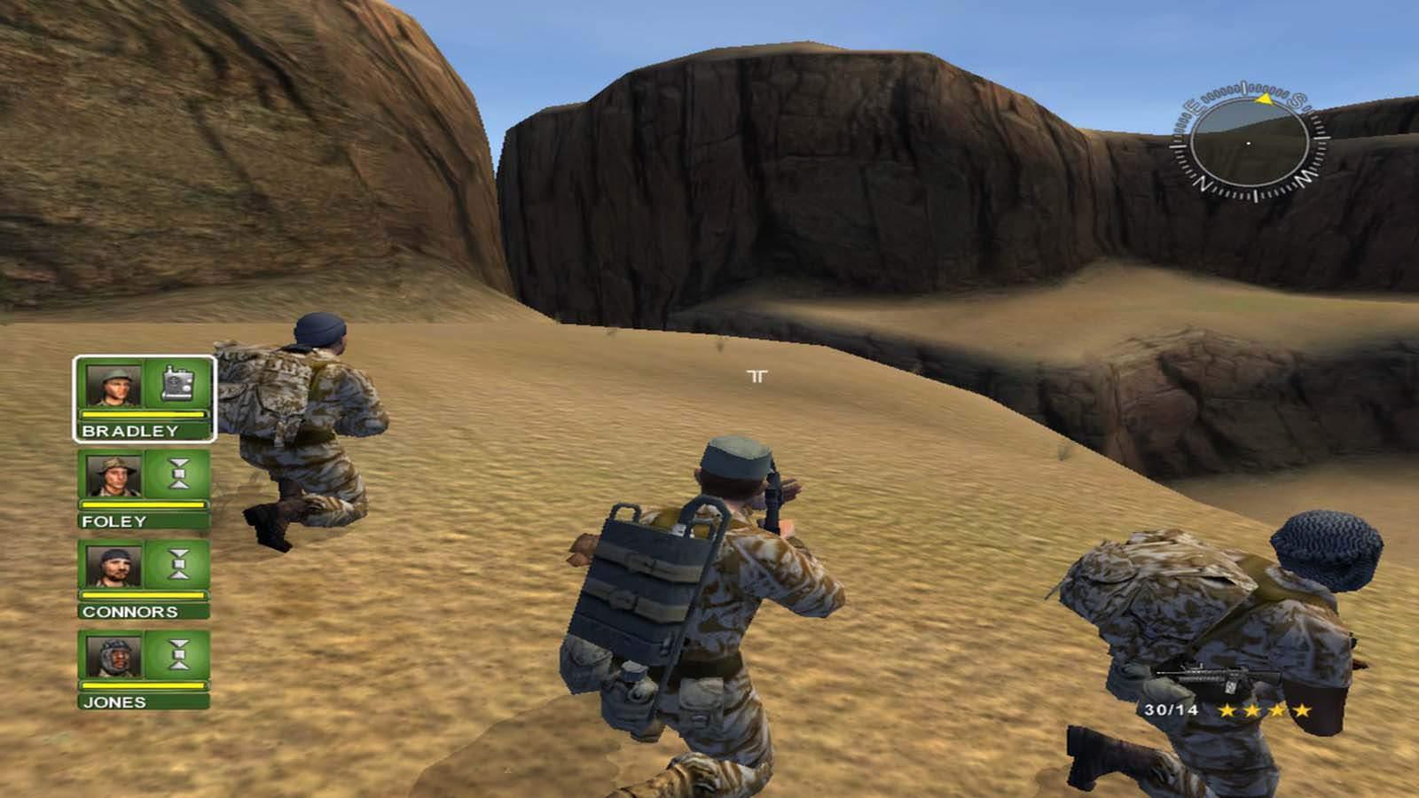 تحميل لعبة Conflict Desert Storm 1 مضغوطة برابط واحد مباشر + تورنت كاملة مجانا