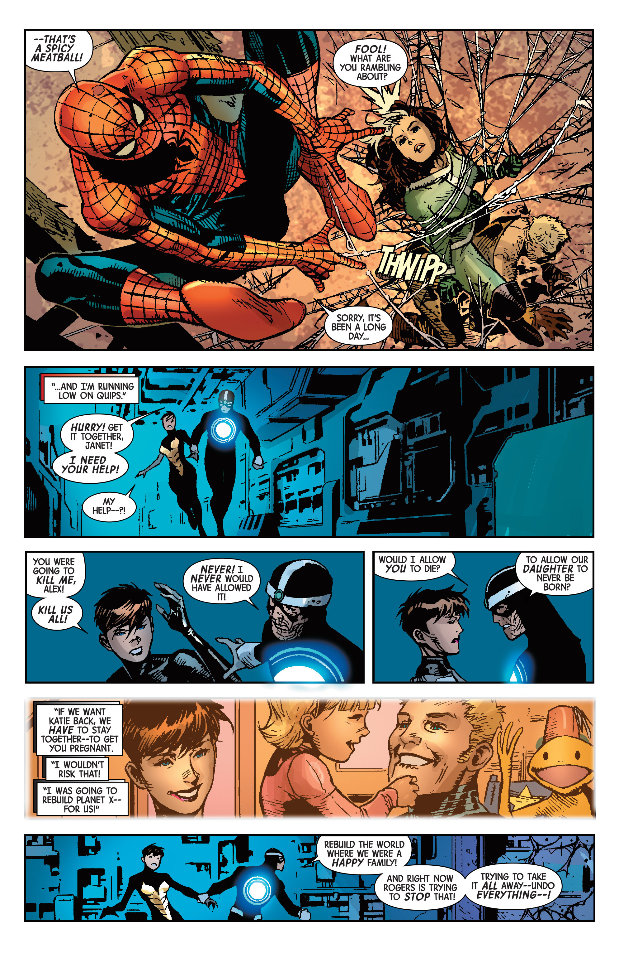 Read online Avengers & X-Men: AXIS comic -  Issue #9 - 12