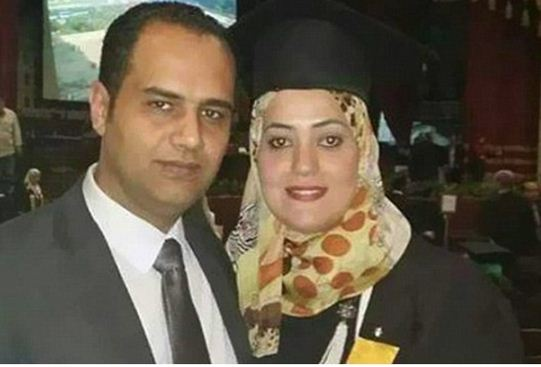 Ahmed and his wife
