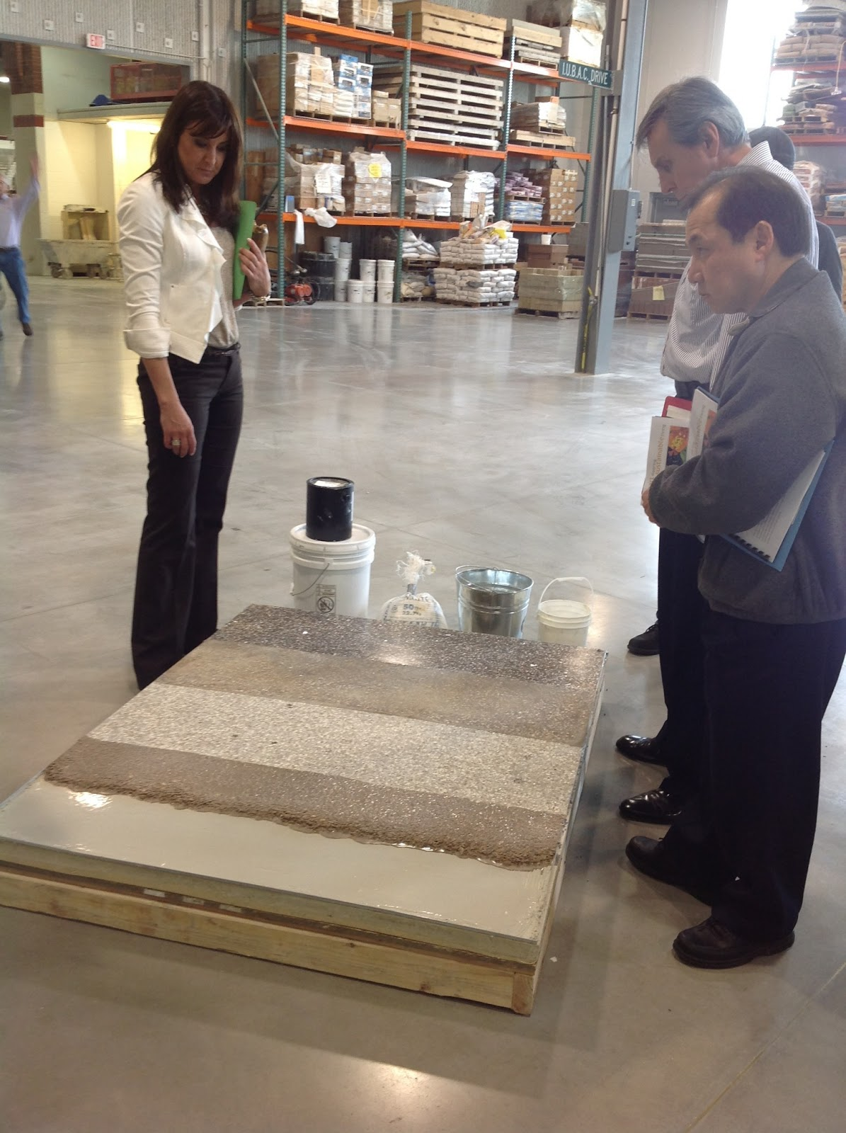 Imi Illinois Market Development Terrazzo Flooring Systems