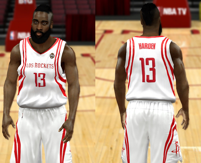 fc48da5b44d Full set of modded NBA 2K14 jerseys for the Houston Rockets. The pack  includes all classic and current uniforms. Continue on for the complete  list.