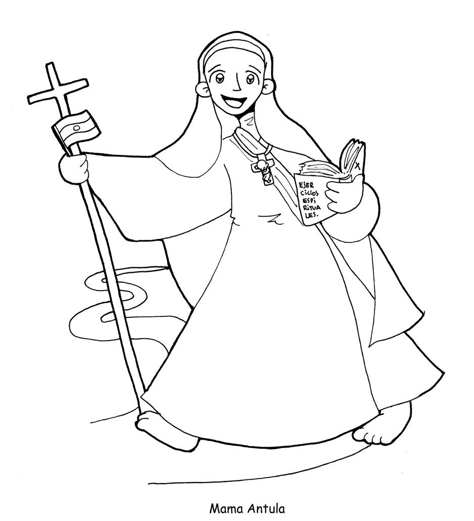 Santoral Catolico Imagen De La Beata Maria De San Jose Mama
