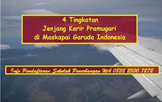 4 Tingkatan Jenjang Karir Pramugari di Maskapai Garuda Indonesia
