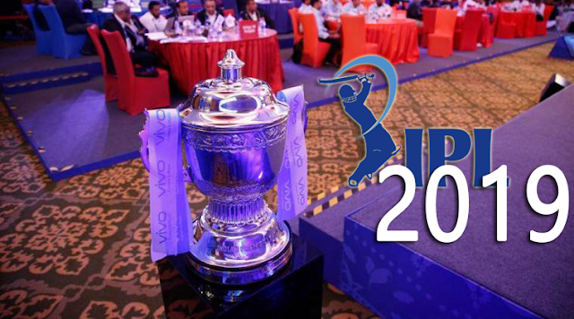 List of 2019 IPL - Indian Premier League, Team Squads, Players List, Team Names