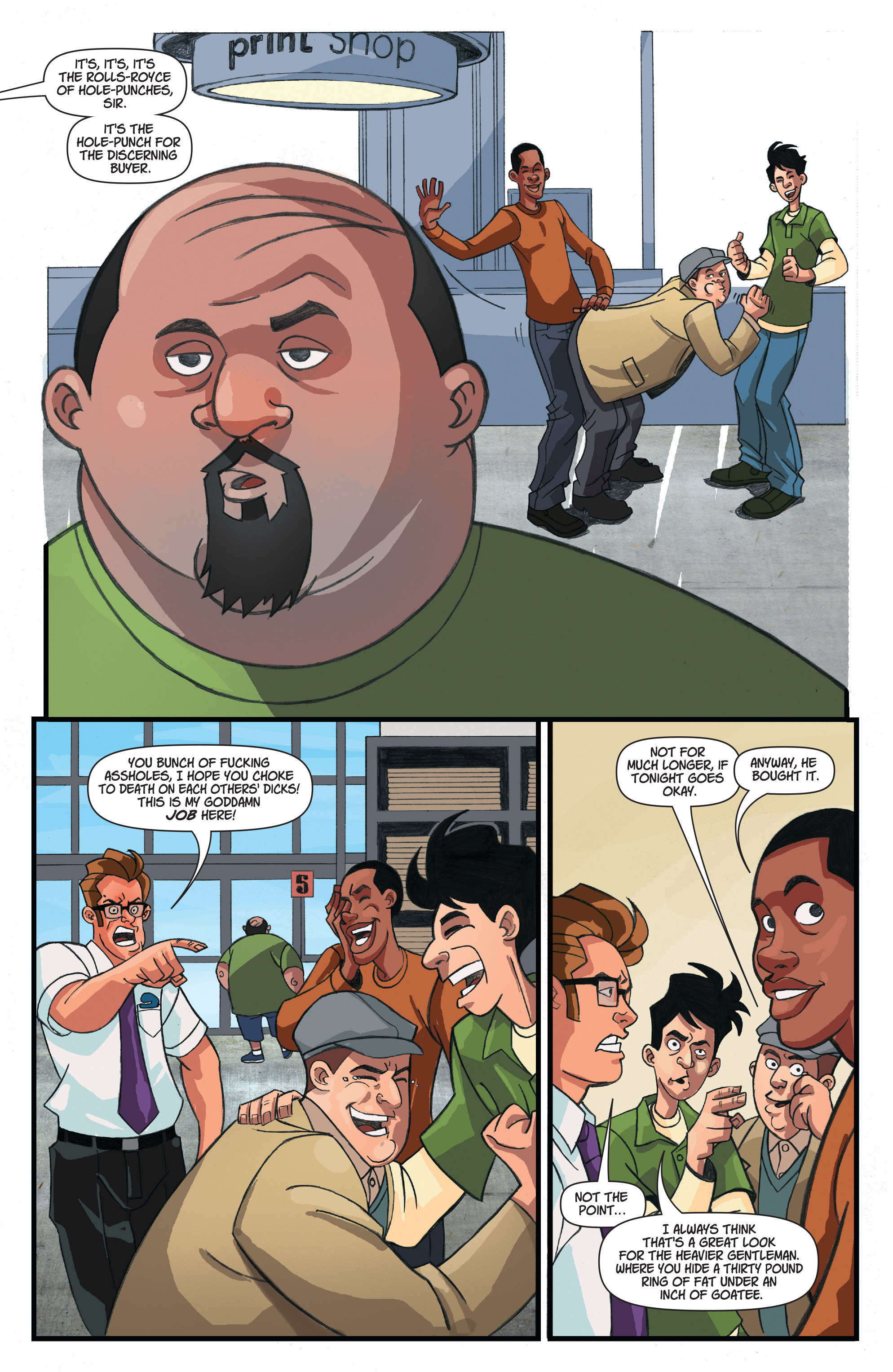 Read online A Train Called Love comic -  Issue #4 - 8
