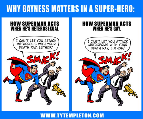Why Gayness Matters in a Super-Hero, by Ty Templeton