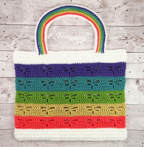 Dragonfly Beach Tote - Free Pattern