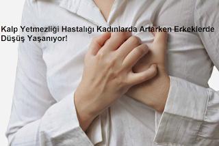 Kalp Yetmezliği Hastalığı Kadınlarda Artarken Erkeklerde Düşüş Yaşanıyor!