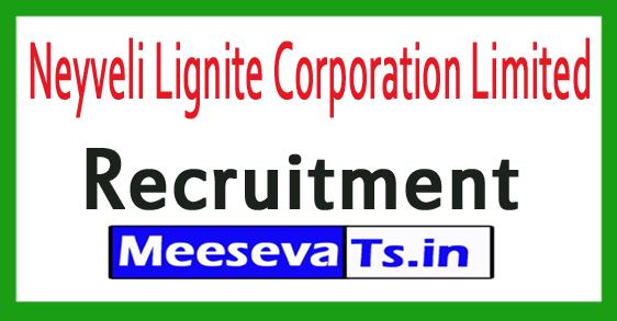 Neyveli Lignite Corporation Limited NLC Recruitment Notification 2017