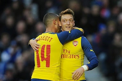 Theo Walcott and Mesut Ozil: The real boost for Arsenal