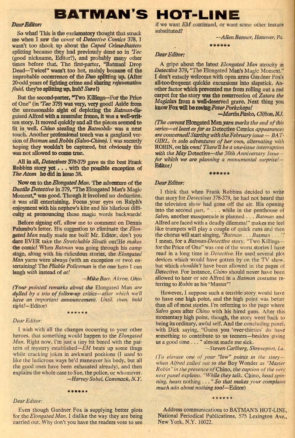 Detective Comics (1937) 383 Page 19