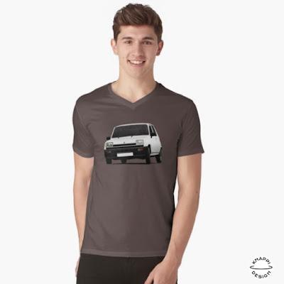 Renault 5 paidat tröjor