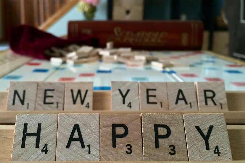 art happy new year wish image