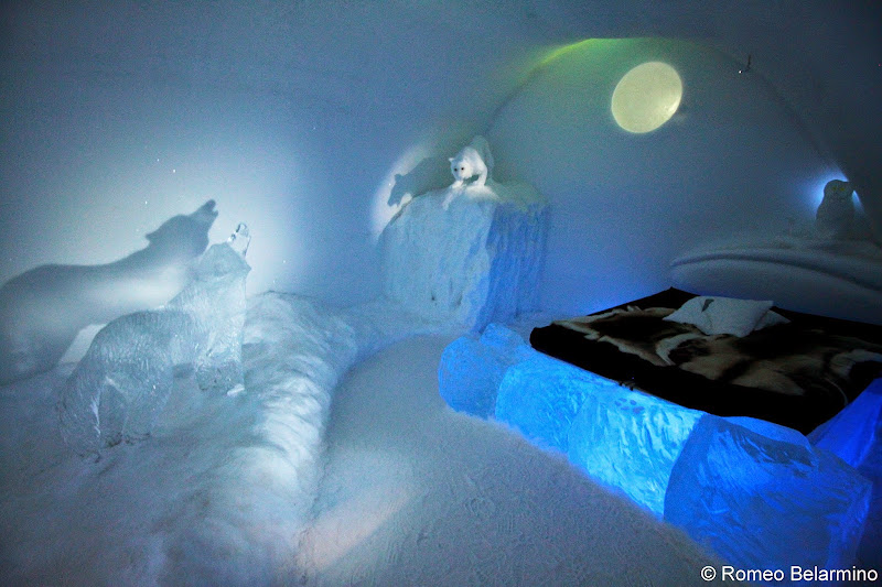 ICEHOTEL Polar Night Art Suite Sweden