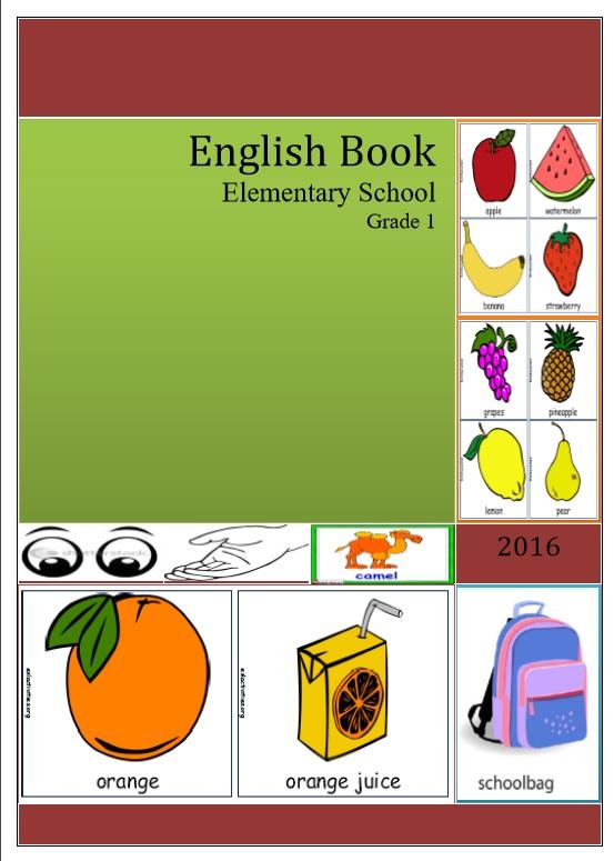 Pelajaran Bahasa Inggris English Book Elementary School Grade 1