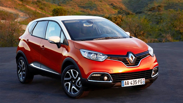 Renault Capture Dual Tone color pics