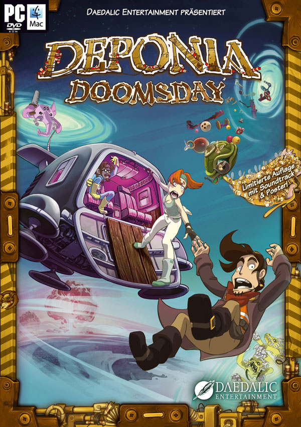 Deponia Doomsday Download Cover Free Game