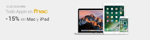 Mejores ofertas de los Apple Days de Fnac de abril de 2017