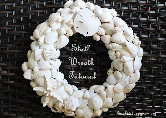 Sea Shell Wreath DIY