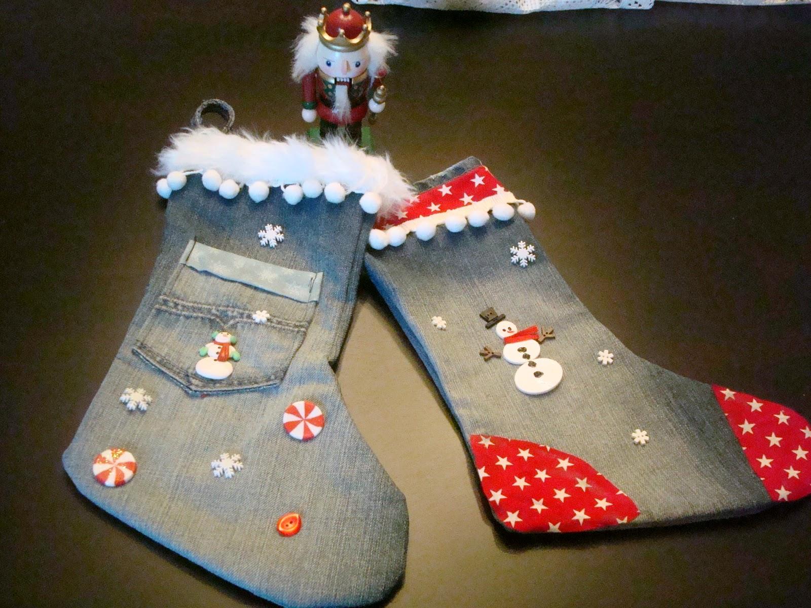 ideas de medias navideñas