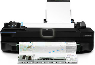 Descargar HP DesignJet T120 driver Windows, Mac, Linux