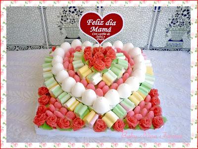 tarta de chuches dia de la madre