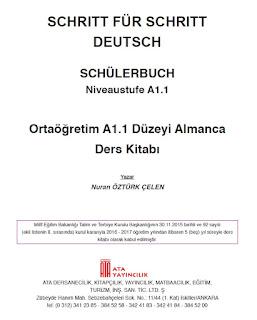 9. Sınıf Almanca A1.1 Çalışma Kitabı Cevapları
