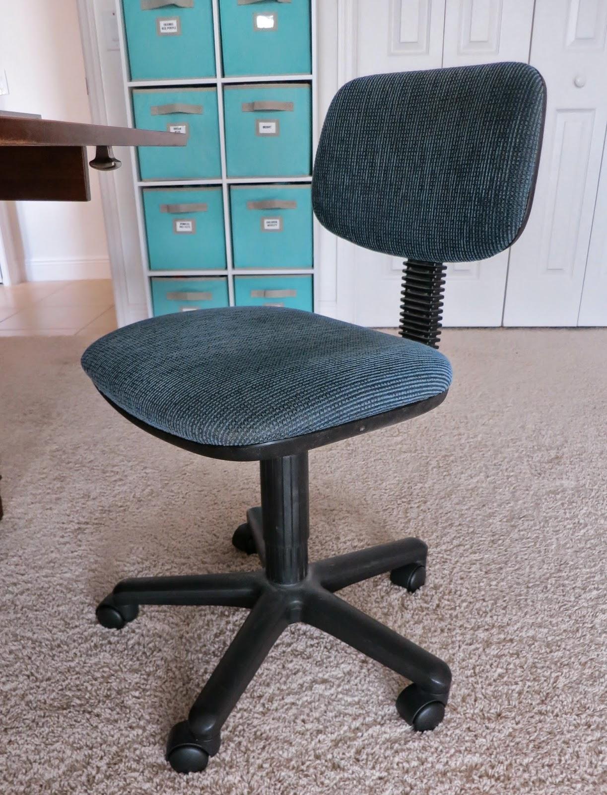 Flourishing Palms DIY Computer Chair