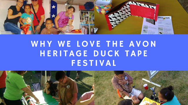 Why We Love the Duck Tape Festival!