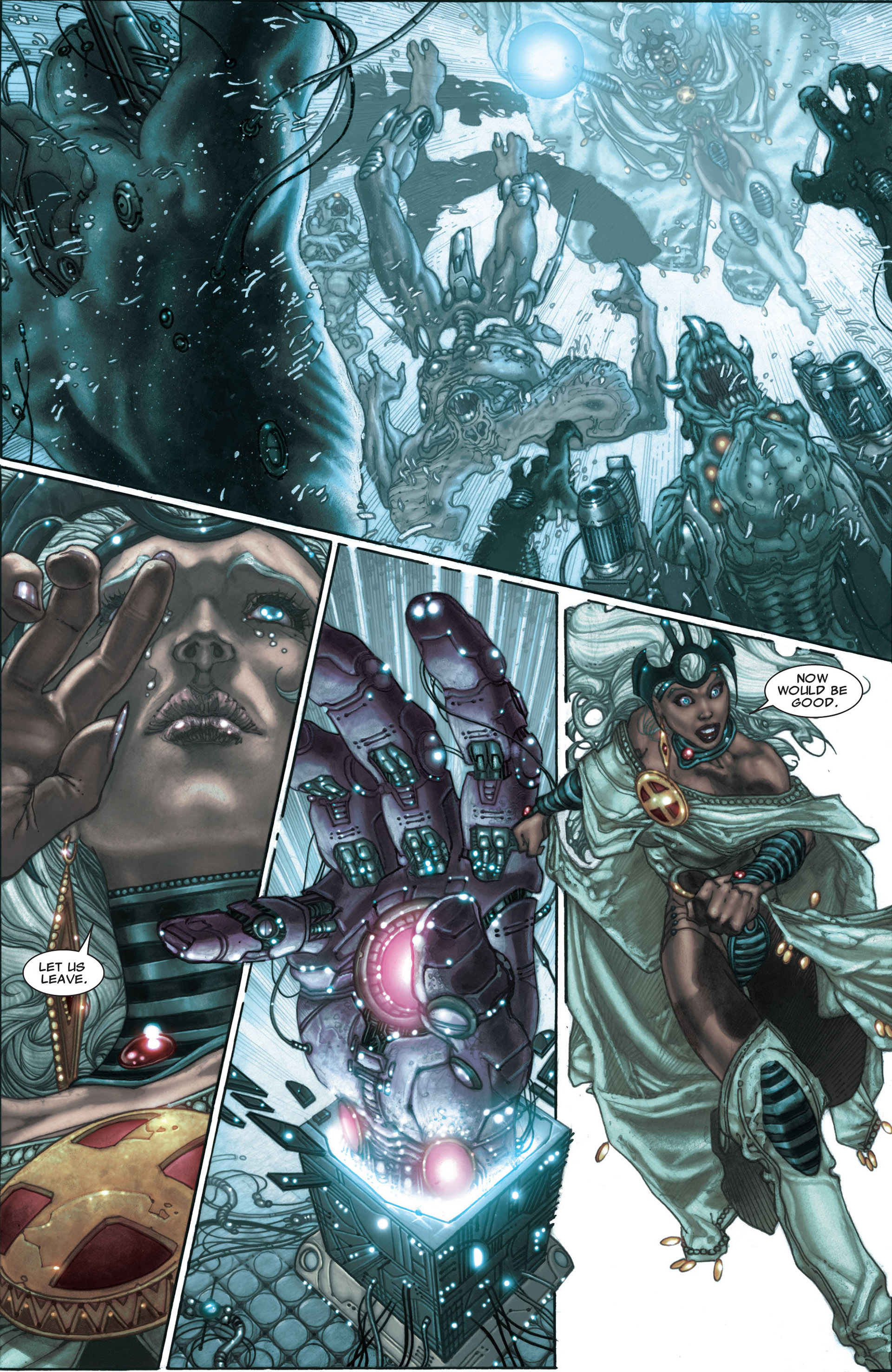 Read online Astonishing X-Men (2004) comic -  Issue #30 - 16